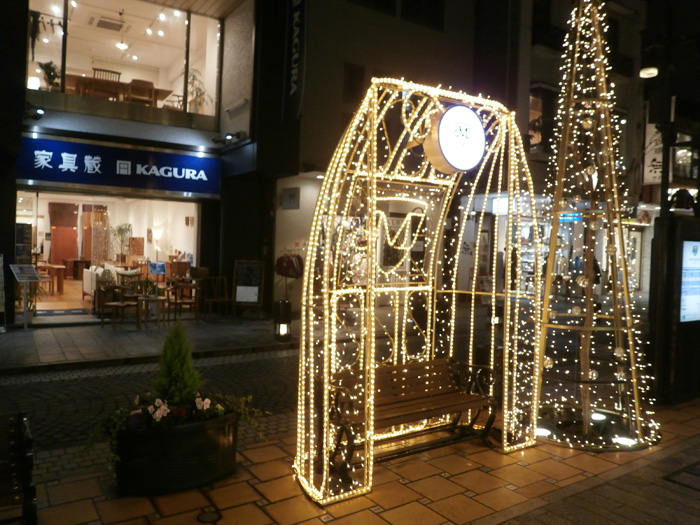元町店イルミネーション