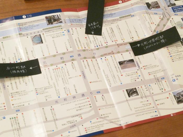 元町商店街 地図