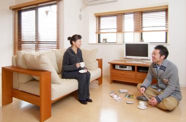 チェリー 無垢材ソファ 無垢材TVボード テレビボード 無垢材家具
