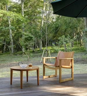 ナラ チェリー 無垢材テーブル 無垢材チェア  無垢材家具