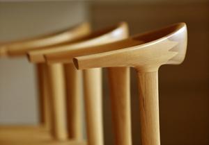 ナラ  無垢材チェア  無垢材家具