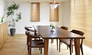 無垢材家具 無垢材テーブル 無垢材チェア ウォールナット