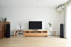 無垢材TVボード 無垢材収納 無垢材テレビボード チェリー