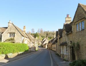 イギリス 古い町並み