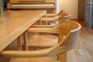 無垢材チェア 無垢材テーブル ハードメープル