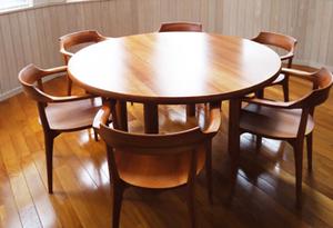 無垢材家具 無垢材テーブル 無垢材チェア チェリー