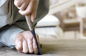 無垢材家具作り 職人 手仕事