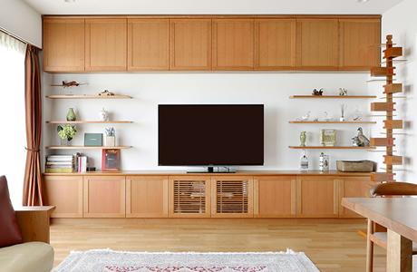 理想の整理収納を叶える収納家具が完成