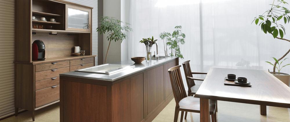 家具蔵のオーダーキッチンの特徴を知る