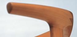 板座チェア/有機的な曲線仕上