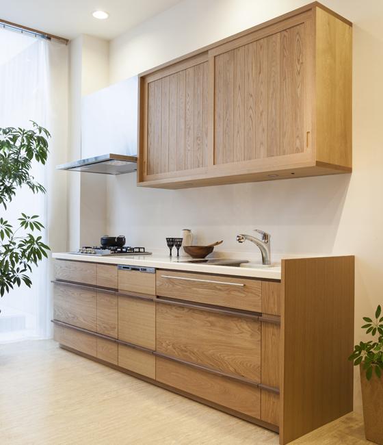 キッチン モデルノ(I型/吊戸棚タイプ)