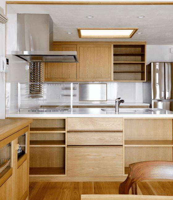 キッチン モデルノ(ペニンシュラ/背面収納タイプ)