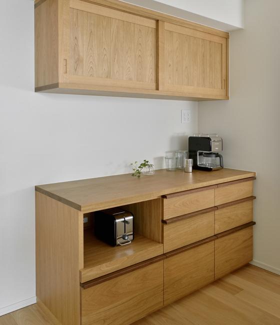 キッチン モデルノ(背面収納タイプ)