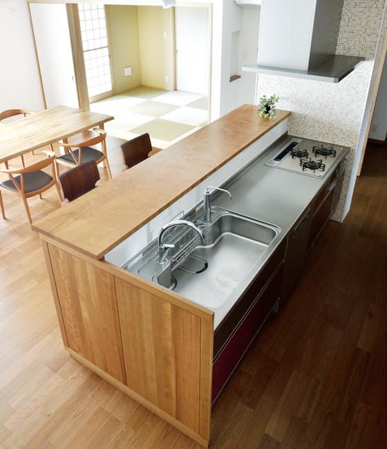 キッチン プログレス(ペニンシュラタイプ)