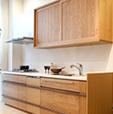 自由設計に近い為、理想に一番近い収納家具が制作可能