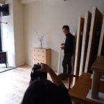新しい家具たちの撮影会