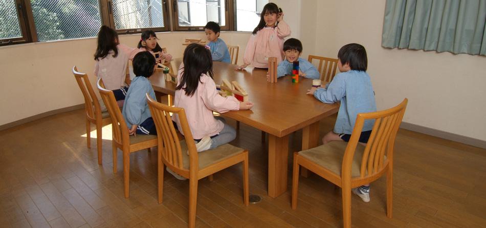 vol.12 ナラの大テーブル 神奈川県 宮前幼稚園