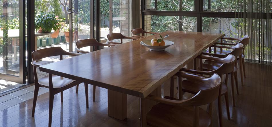 vol.22 チェリーの大テーブル 東京都 高橋邸