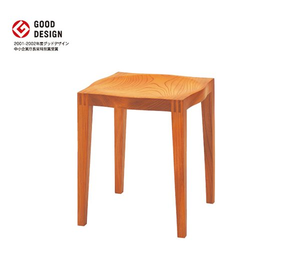 スツール ゼン(STOOL ZEN) - 無垢材チェア&無垢材ベンチ