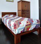 無垢材 ベッドフレーム ヘッドレス モデルノ(無垢材 BED FRAME<br /> HEADLESS MODERNO)商品写真