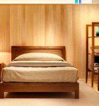 無垢材 ベッドフレーム ダン(無垢材 BED FRAME<br /> DAN)商品写真