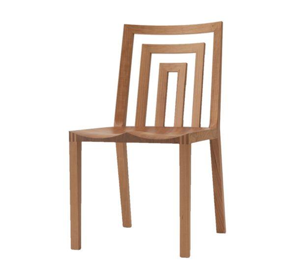 無垢材 チェア ダン ウッドシート(無垢材 CHAIR DAN WOOD SEAT) - 無垢材チェア