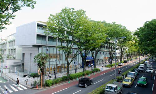 インテリアショップが多く再開発も進む表参道という街