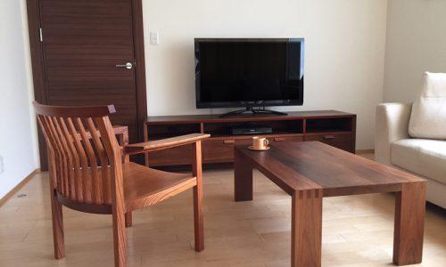 横浜市民の木「ケヤキ」で作る家具のご紹介