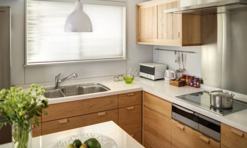 キッチンと背面収納はセットで考える!