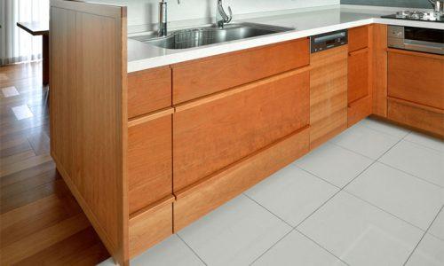 キッチンに適した床材を知る