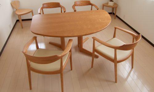 ダイニングテーブルのデザインの種類