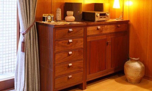 和家具と家具蔵の収納家具の「良い」関係