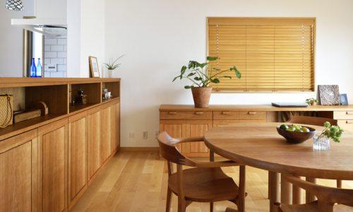 無垢材でつくるオーダー家具の魅力
