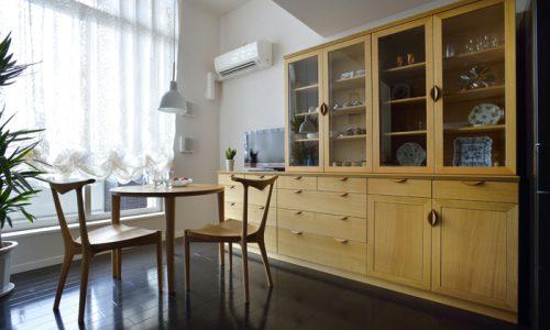 オーダー食器棚が変える収納術と心地よい空間