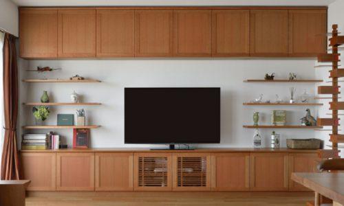 壁面収納をオーダー家具でつくるメリットとは