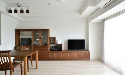 オーダー家具の定番 テレビボードの選び方