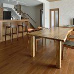 東京の集合住宅に一枚板テーブルは合うのか