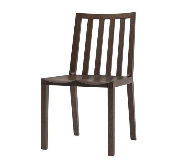 無垢材 チェア ストライプウッドシート(無垢材 CHAIR STRIPE WOODSEAT) - 無垢材チェア