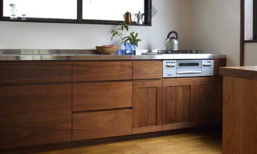 「ウォールナットのキッチン」とその空間で生まれるものとは